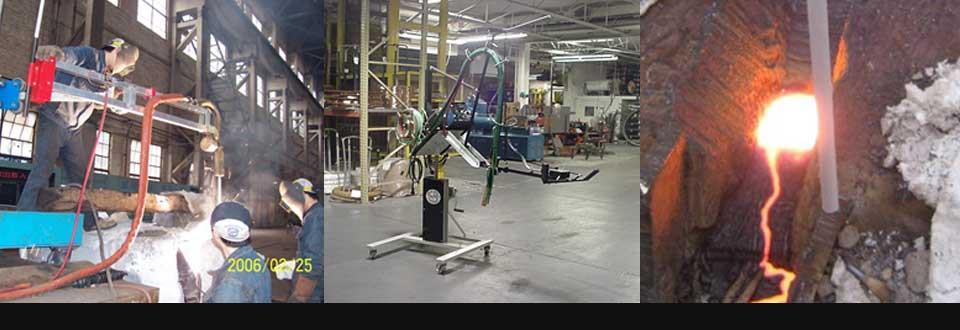 万得模专业的焊接设备,严格的焊接工艺,优质的焊接材料,高速的焊接效度 是帮助企业降低模具成本,提高模具质量,减少停产时间的有力武器! 我们生产的直径达20mm的焊棒堪称世界之最,焊接过程犹如金属浇铸。